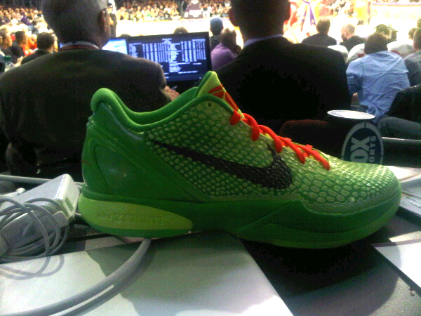 Nike's Zoom Kobe 6 Christmas Shoe